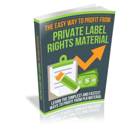 [pdf]   How To Profit With Private Label Rights  .