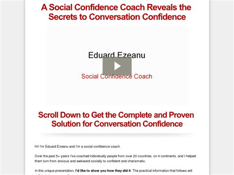 [click] Buy Conversation Confidence 75 Initial Plus 50. -1