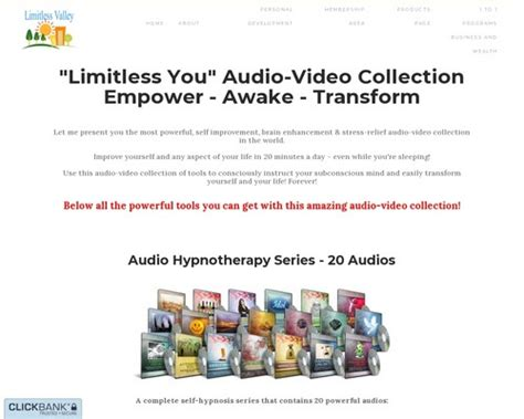 @  Limitless You Audio-Video Collection.
