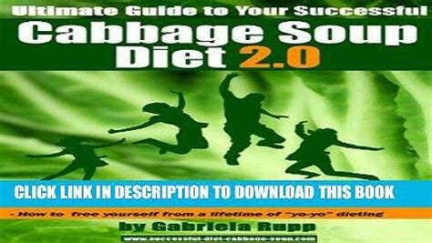 [click] Pdf Cabbage Soup Diet 2 0 - The Ultimate Guide Full .