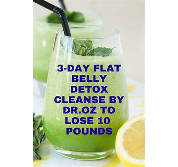 3 Day Belly Fat Cleanse