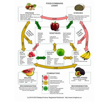 Food Combination Diet Menu Plan