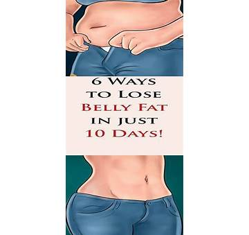 Home Remedies to Lose Belly Fat in 10 Days
