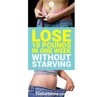 How to Lose 1 Pound a Day