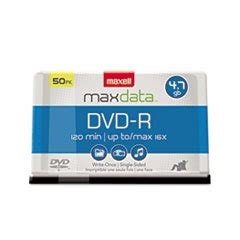 (3 Pack Value Bundle) MAX638014 DVD-R Discs, 4.7GB, 16x, Spindle, Gold