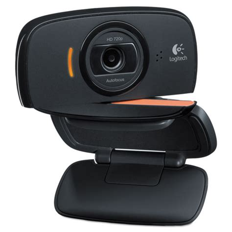 * Webcam C525,720P HD, 8MP, Black/Silver