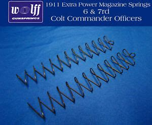 Shop 1911 Extra Power Magazine Springs Wolff
