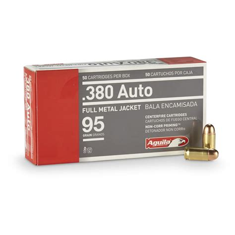 Review Aquila 380 Ammo