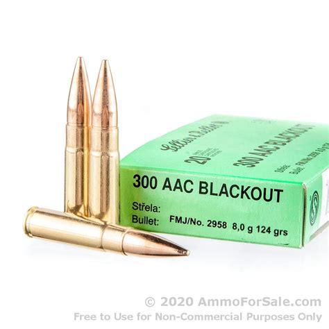 Shop For Cheap Price 300 Aac Blackout 124gr Fmj Ammunition