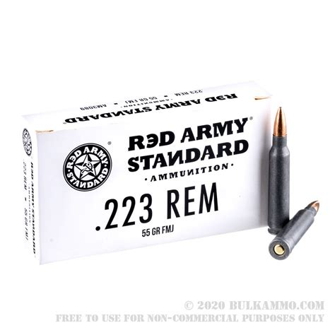 Review Of Red Army Standard 223 Ammo And Snapshots 223 Ammo Review