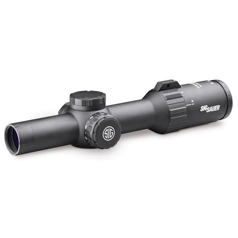 Review Sig Sauer Tango4 1-4x24mm Scope Locked Back