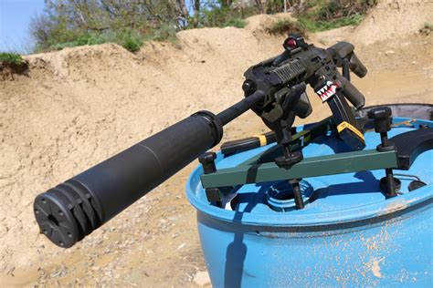 Review Silencerco Omega 30 Cal Suppressor The Firearm Blog