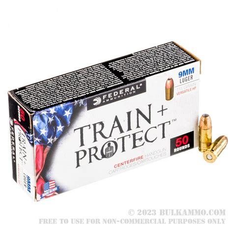 Shop Train Protect Ammo 9mm 115gr Versatile Hollow