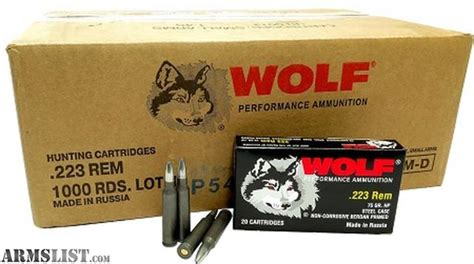 Review Wolf 556 Ammo
