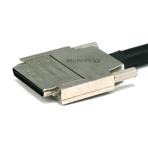 0.8 mm/CN50M VHDCI 0.8mm SCSI Cable - 3ft , Offset