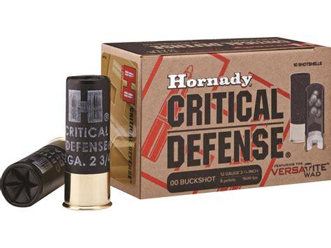 00 Buckshot Defensive Ammo