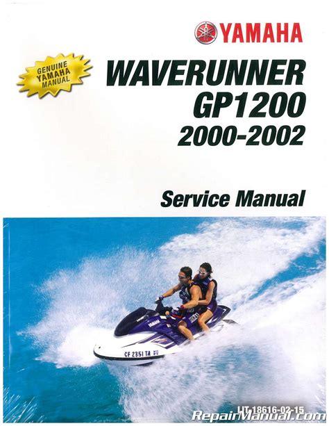 00 Yamaha Gp1200r Service Manual