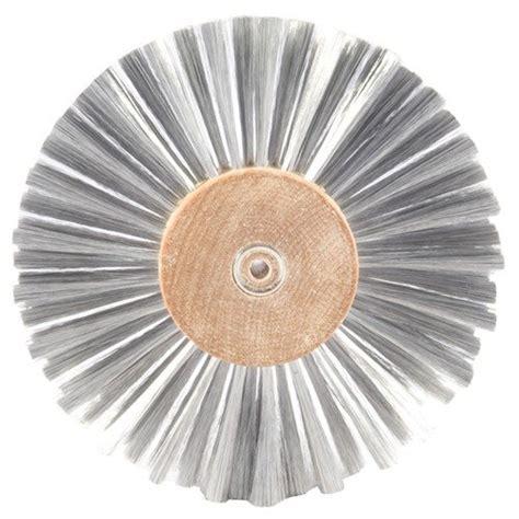 0025 STAINLESS STEEL BRUSHING WHEELS GROBET FILE CO