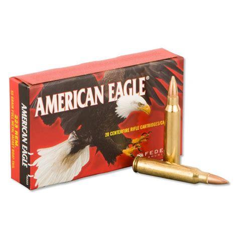 029465062323 Federal American Eagle 223 Remington 55gr