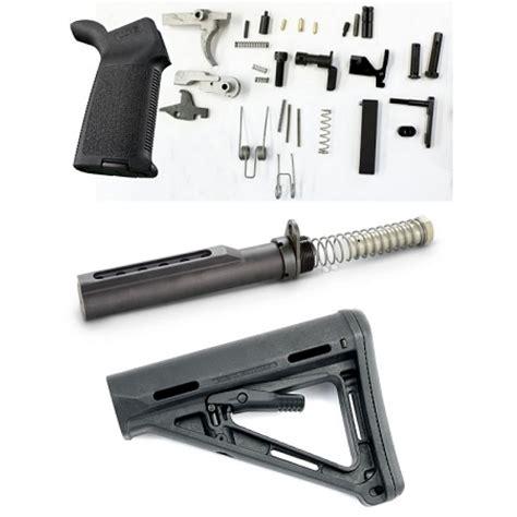 080001152wb Ar15 Moe Lower Parts Kit Blk