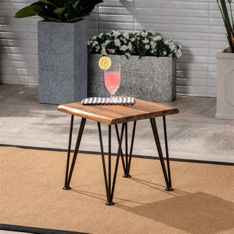 0ne Leg Outdoor Side Tables