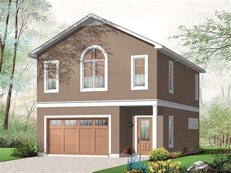 1 Car Garage Plans With Apartment