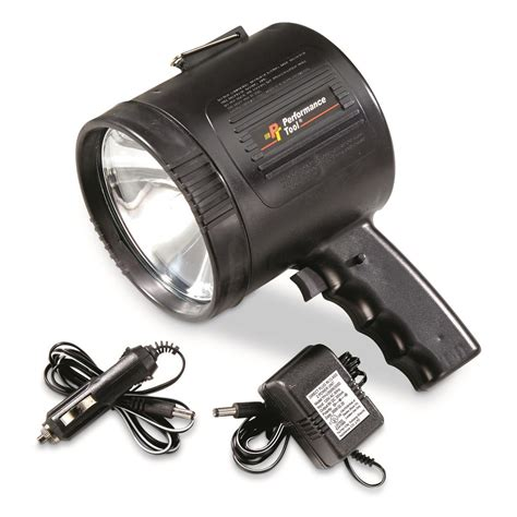 1 million candlepower rechargeable spotlight pdf manual