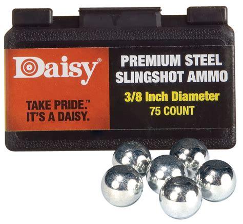 1 4 Vs 3 8 Slingshot Ammo