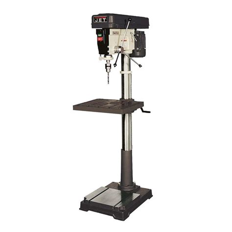1 5 Hp 20 In Floor Standing Drill Press The Home Depot