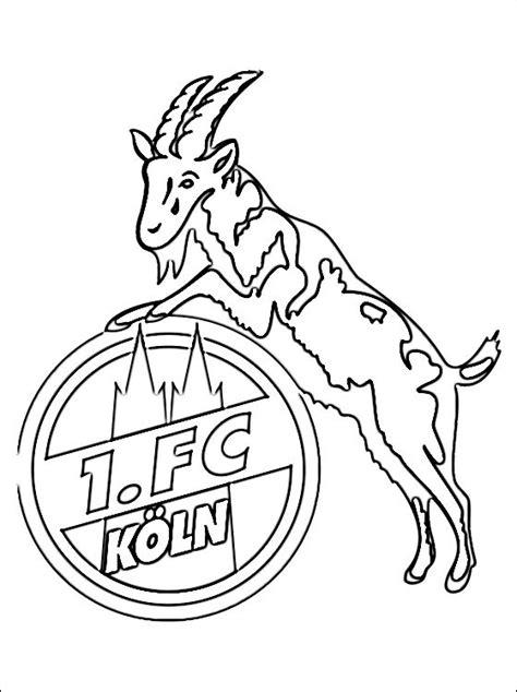 1 Fc Köln Malvorlagen