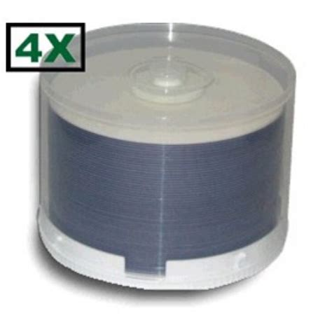 1,200 Princo 4X DVD-R 4.7GB White Inkjet