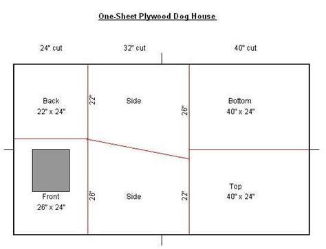 1-Sheet-Plywood-Dog-House-Plans