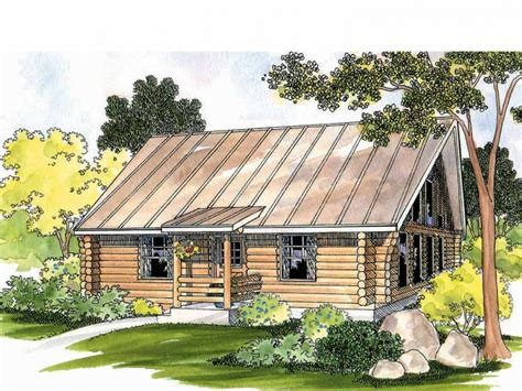 1 Story Cabin Plans