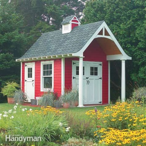 10 By 12 Schoolhouse Shed Plans
