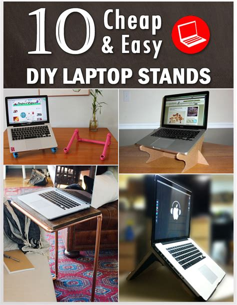 10 Cheap And Easy Diy Laptop Stands