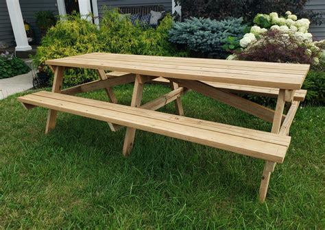 10 Foot Picnic Table Diy