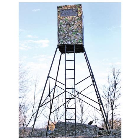 10 Foot Tower Stand Plans