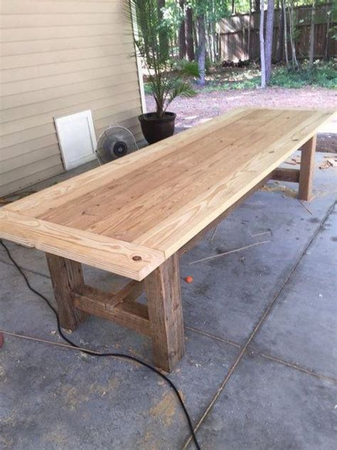 10 Ft Farmhouse Table Diy