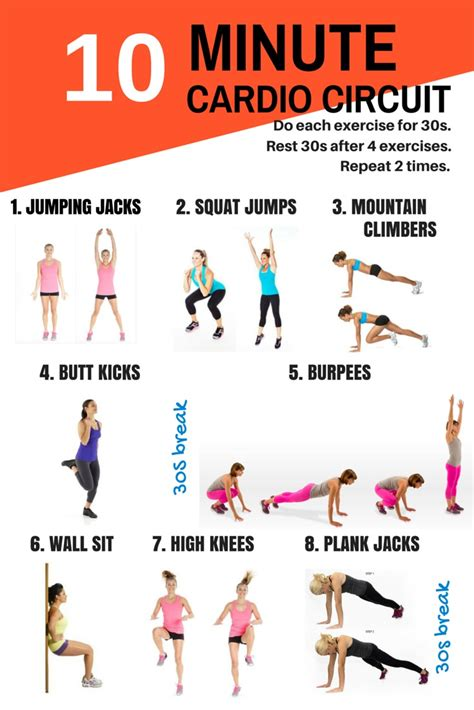 10 Minute Ab Workout Circuit