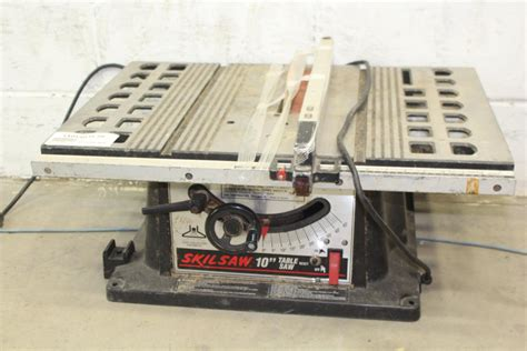 10 Skilsaw Table Saw Model 3400 Table Saw