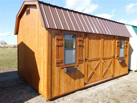 10 X 10 Shed Plans With Loft