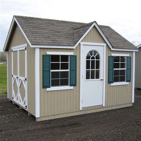 10 X 12 Wood Storage Shed Plans