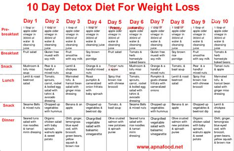 10 day diet detox pdf Image
