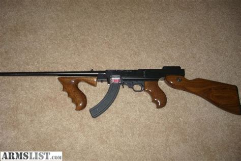 10 22 Tommy Gun Kit And An Airsoft Tommy Gun