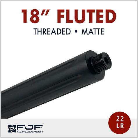 10 22 Threaded Long Rifle Barrels 18-1 2