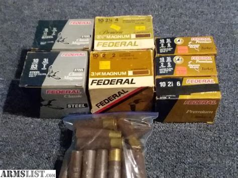 10 Guage Ammo For Sale Armslist And 10x24 Caseless Ammo Alien