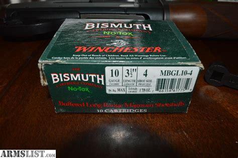10 Gauge Bismuth Shotgun Shells