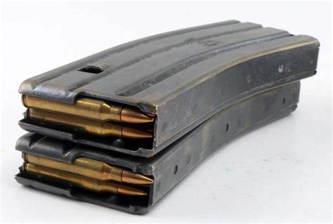 10 Round Ar15 Magazines Attached At The Bottom