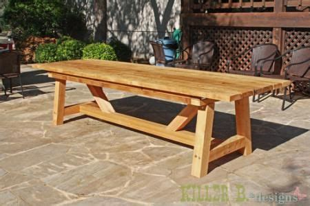 10-Foot-Outdoor-Table-Plans