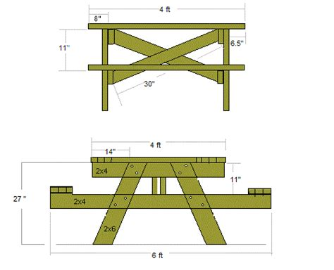 10-Foot-Picnic-Table-Plans-Pdf